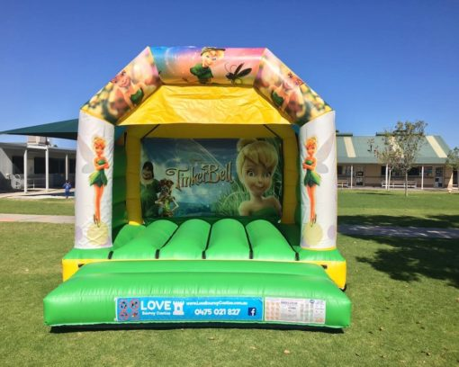Tinkerbell Bouncy Castle Hire