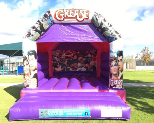 GREASE LARGE BOUNCY CASTLE $349