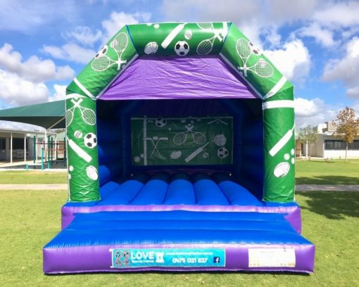 SPORTS LARGE BOUNCY CASTLE $349