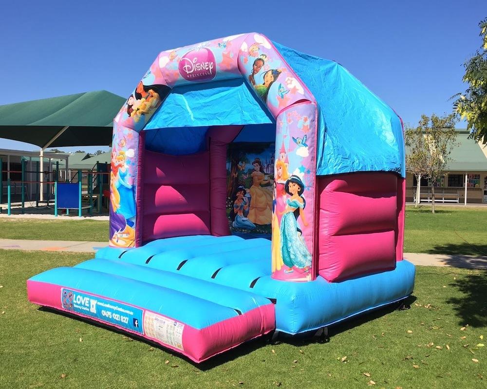 Princess Bouncy Castle Hire 2