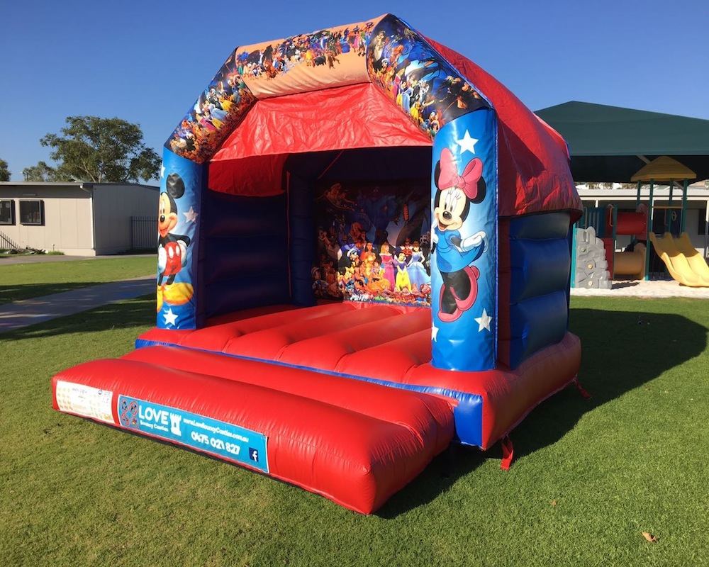 Disney Bouncy Castle Hire 2