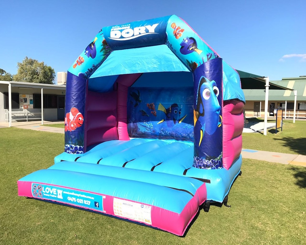 Finding Nemo / Dory Bouncy Castle Hire 2