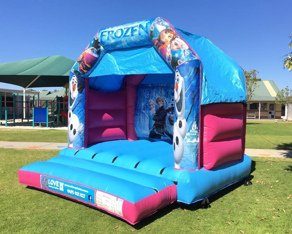 Frozen Bouncy Castle Hire Rockingham