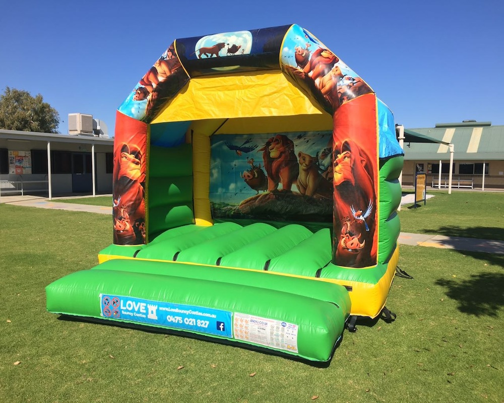 Lion King Bouncy Castle Hire Rockingham