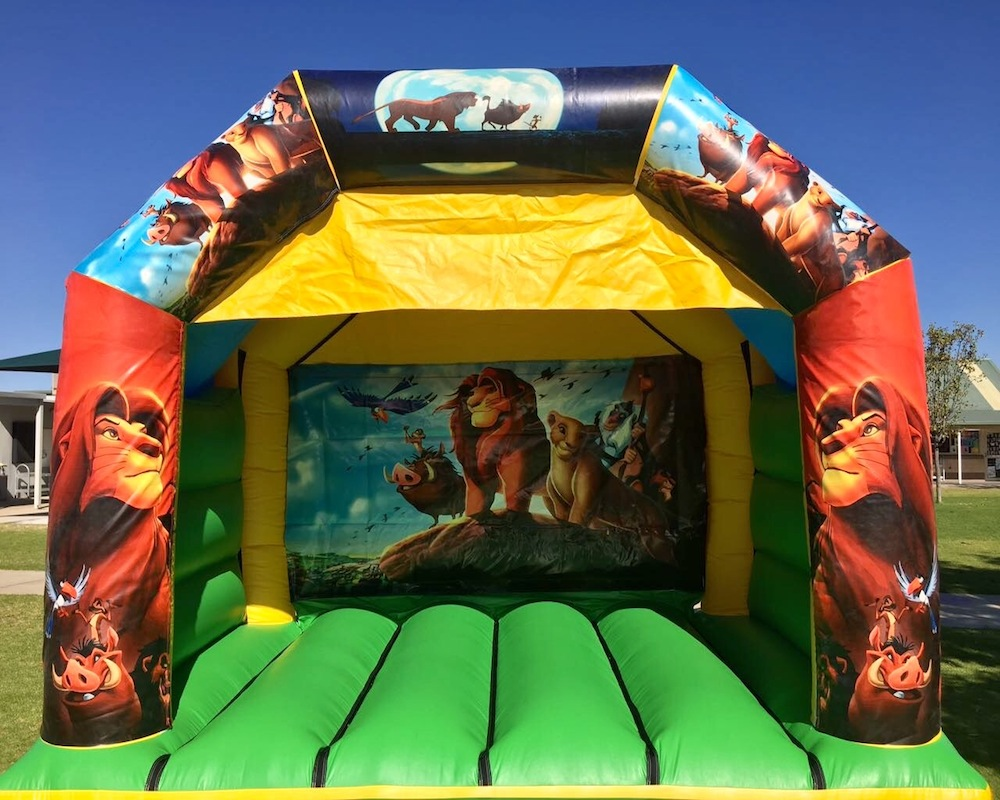 Lion King Bouncy Castle Hire Mandurah