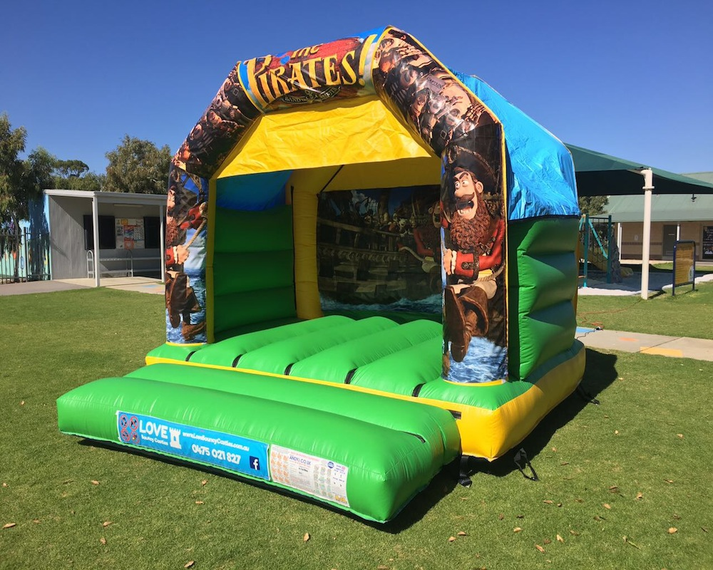 Pirates Bouncy Castle Hire Rockingham