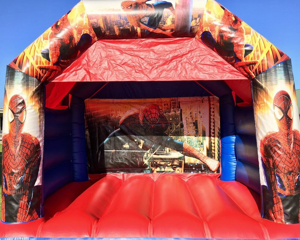 Spiderman Bouncy Castle Hire 3