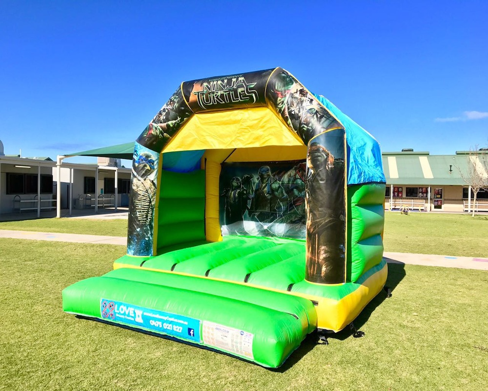 Teenage Mutant Ninja Turtles Bouncy Castle Hire Rockingham