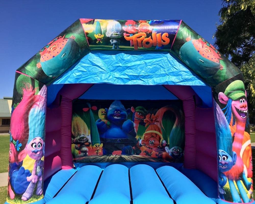 Trolls Bouncy Castle Hire Mandurah