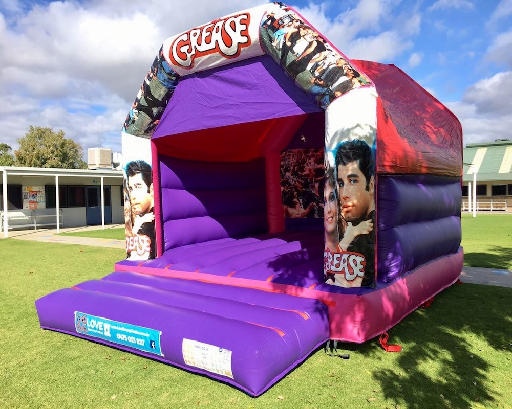 Grease Adult Bouncy Castle Hire Rockingham
