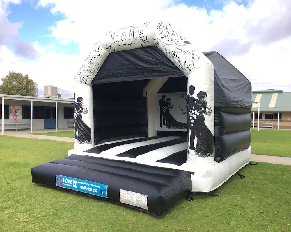 Adult Wedding Bouncy Castle Hire Rockingham