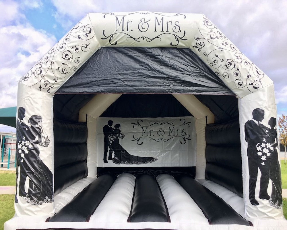 Adult Wedding Bouncy Castle Hire Mandurah
