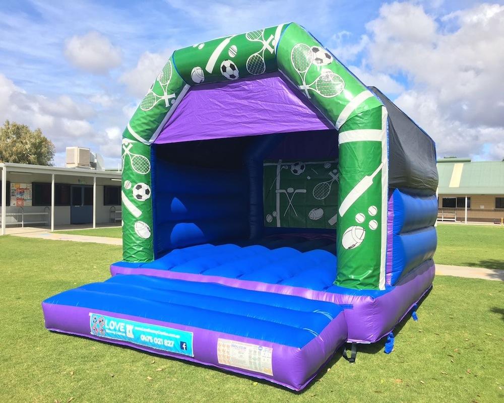 Adult Sports Bouncy Castle Hire Rockingham