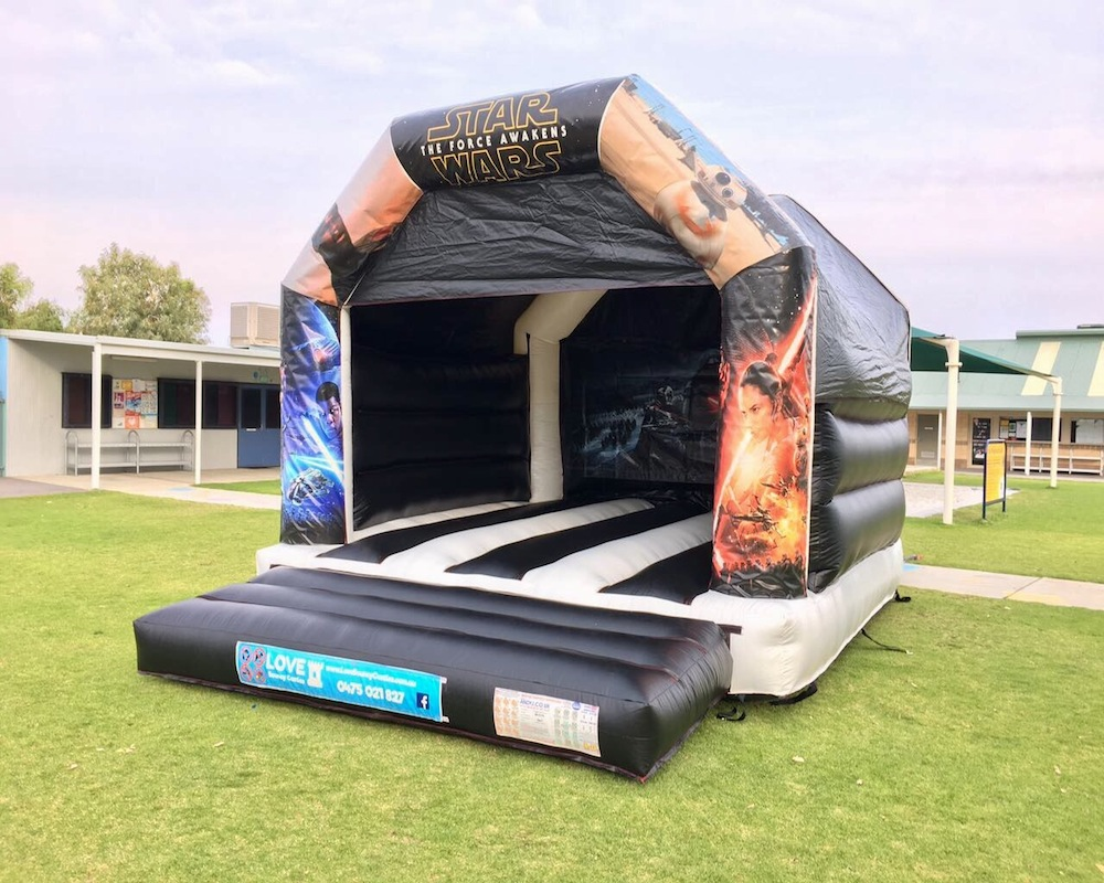 Adult Star Wars Bouncy Castle Hire Rockingham
