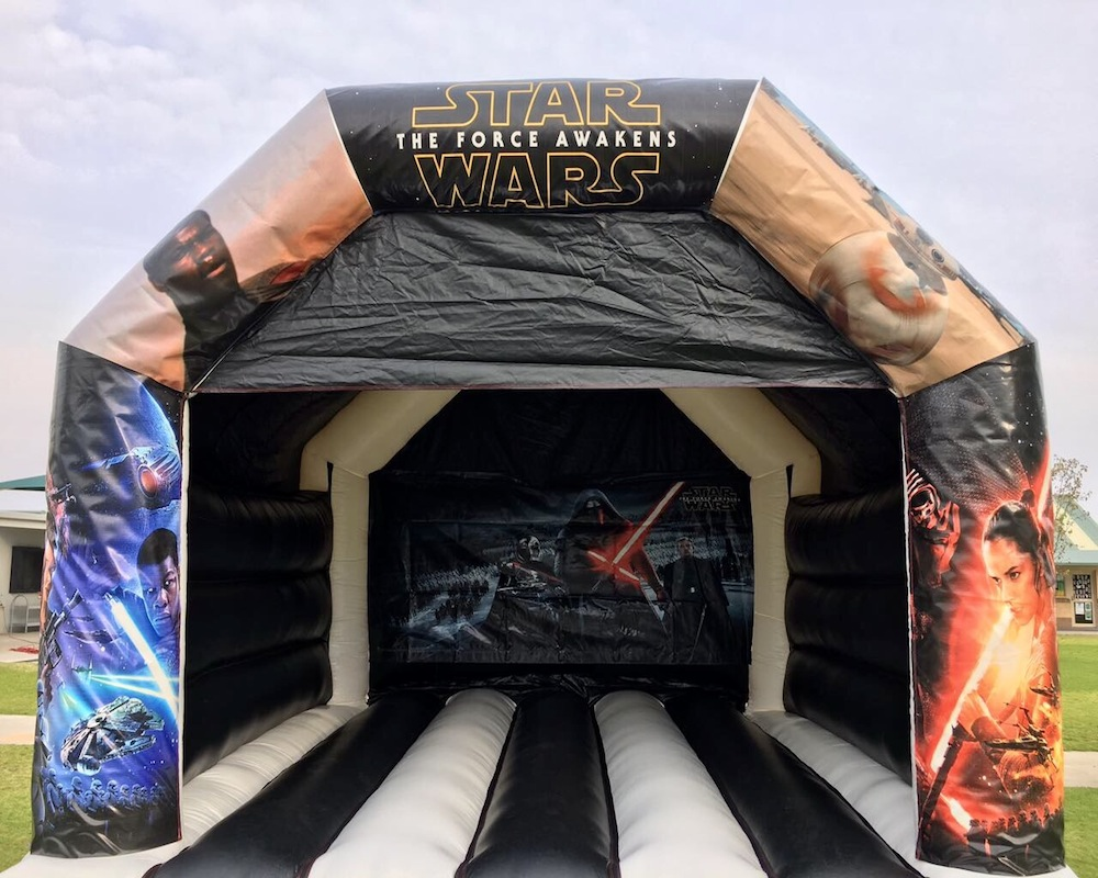 Adult Star Wars Bouncy Castle Hire Mandurah