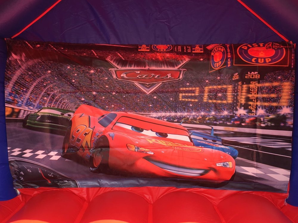 Cars combo bouncy castle hire 3