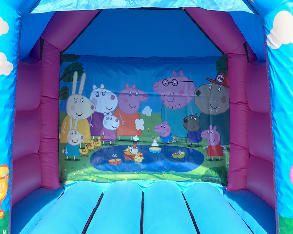 Peppa Pig combo bouncy castle hire 3