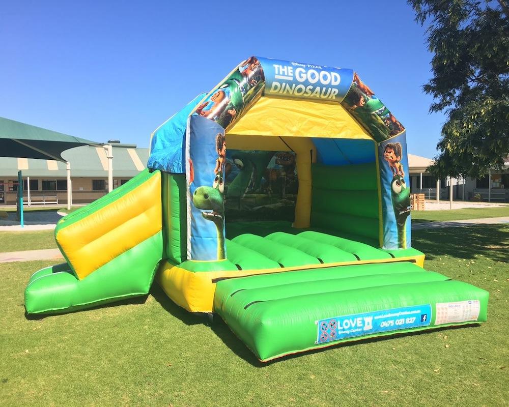 Dinosaur Combo Bouncy Castle Hire 2