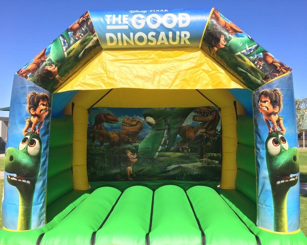Dinosaur Combo Bouncy Castle Hire 3