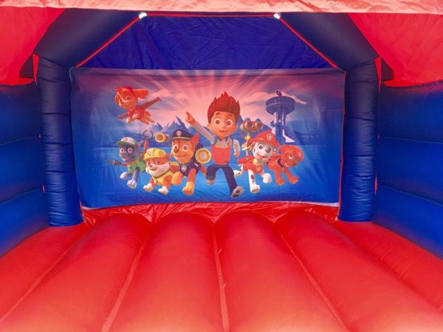 Paw Patrol Bouncy Castle Hire