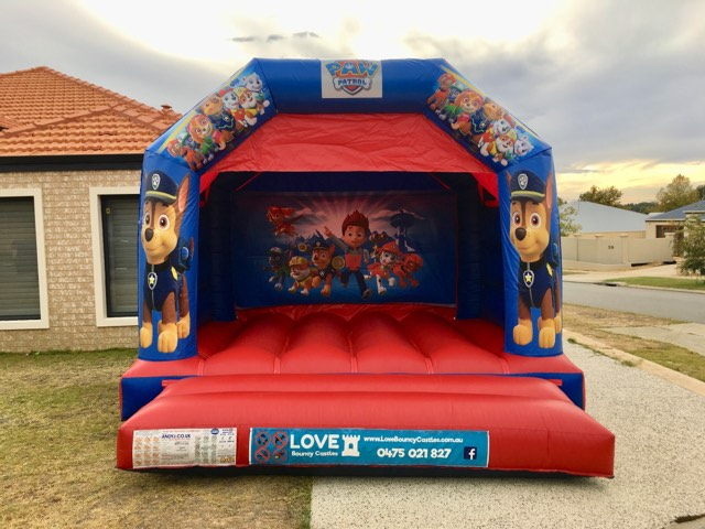 Paw Patrol Bouncy Castle Hire Baldivis