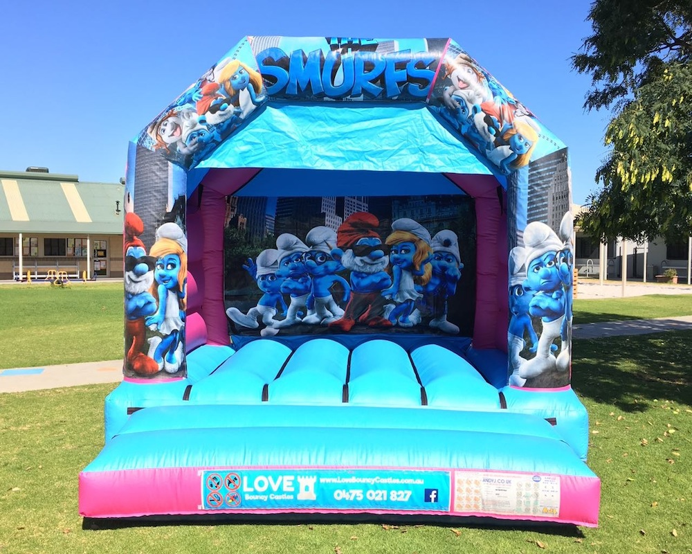 Smurfs Bouncy Castle