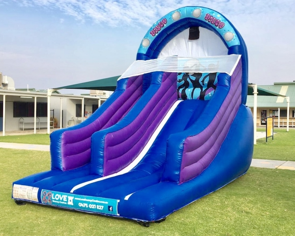 Blue Disco Super Slide