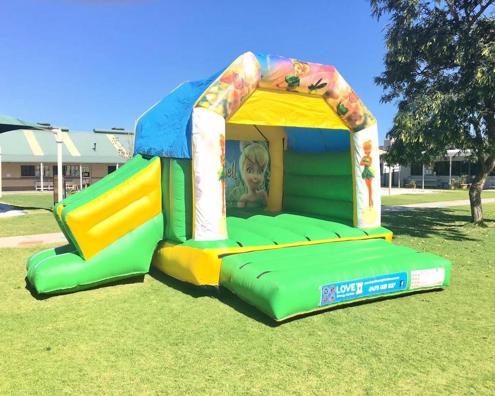 Tinkerbell Combo Bouncy Castle