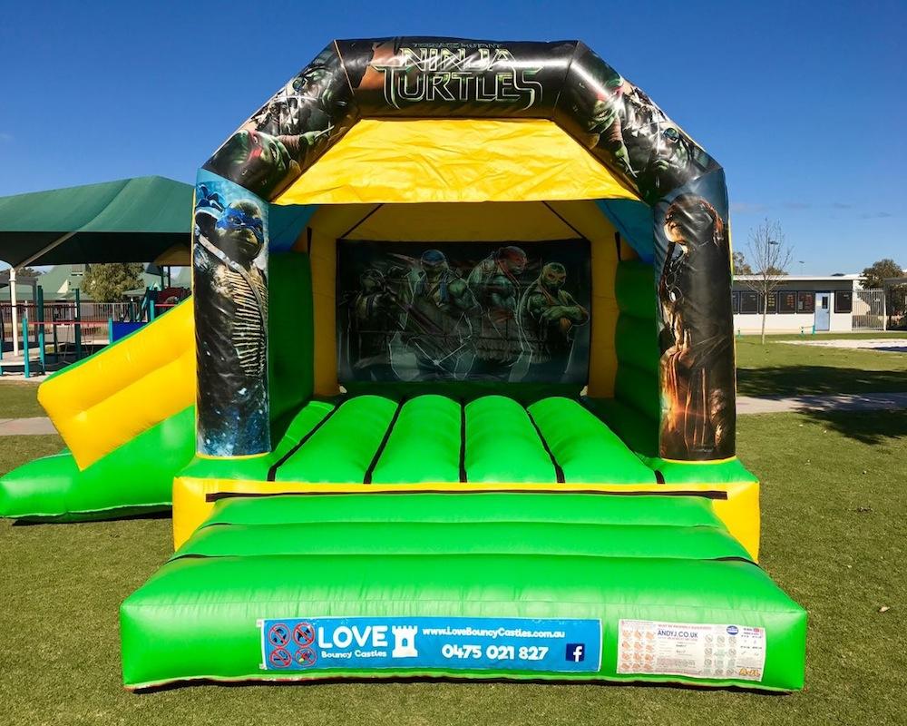 Teenage Mutant Ninja Turtles Combo Bouncy Castle