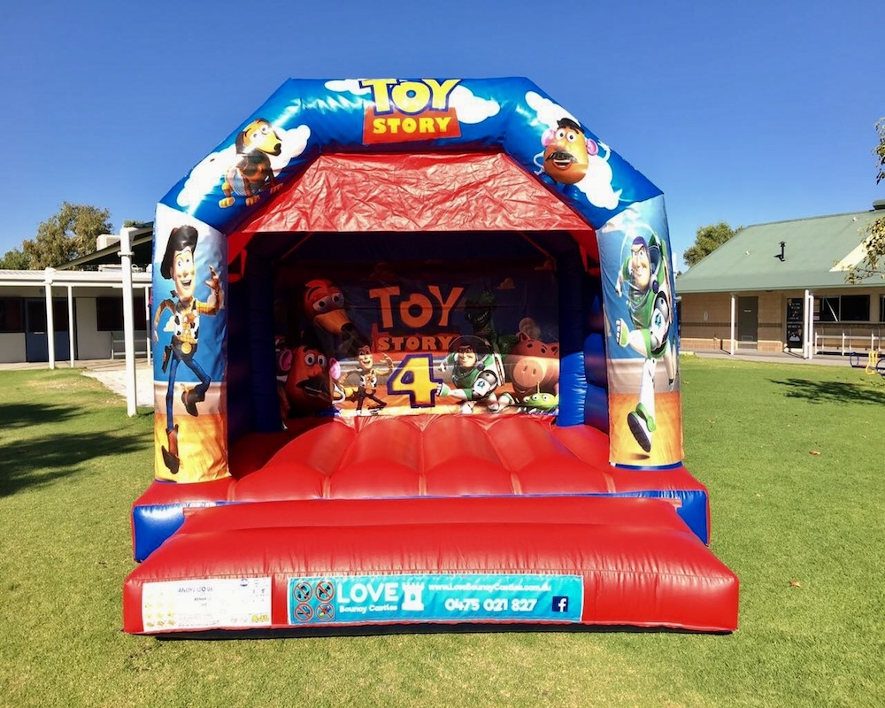 Toy Story Bouncy Castle - Love Bouncy Castles