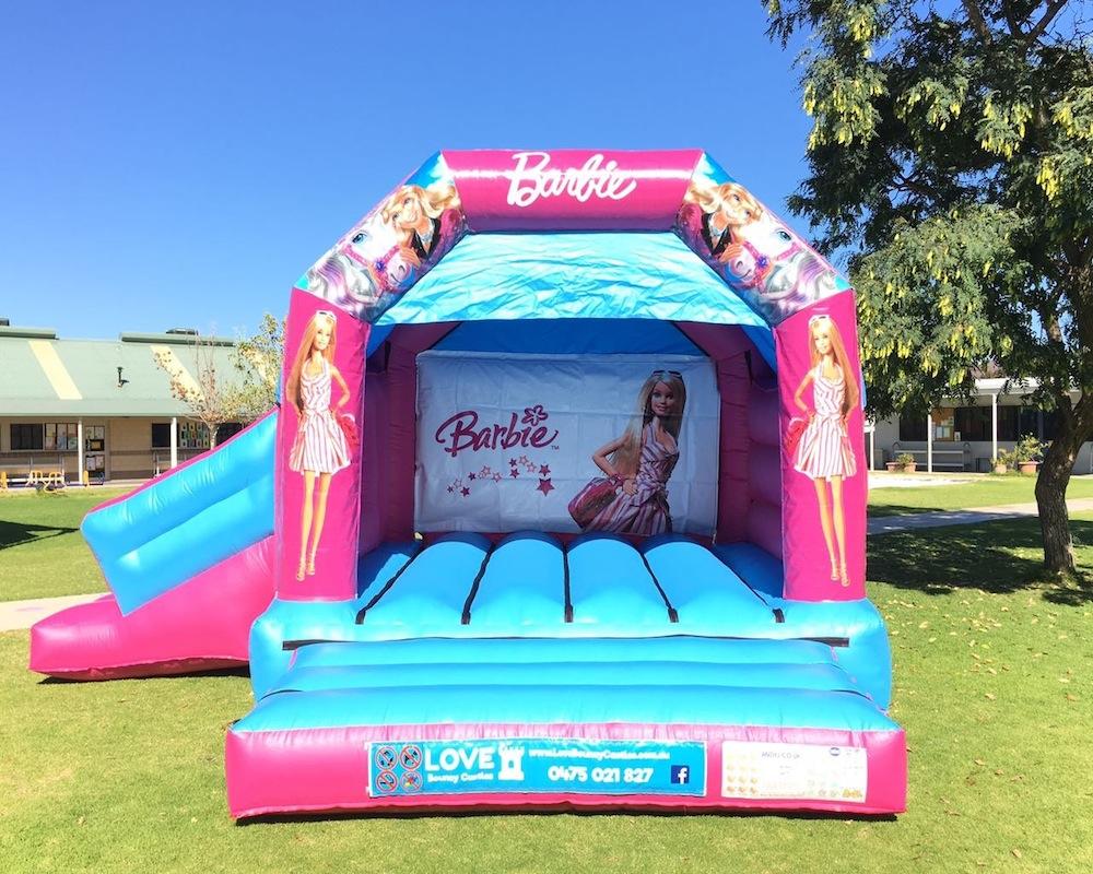 Barbie Combo Bouncy Castle