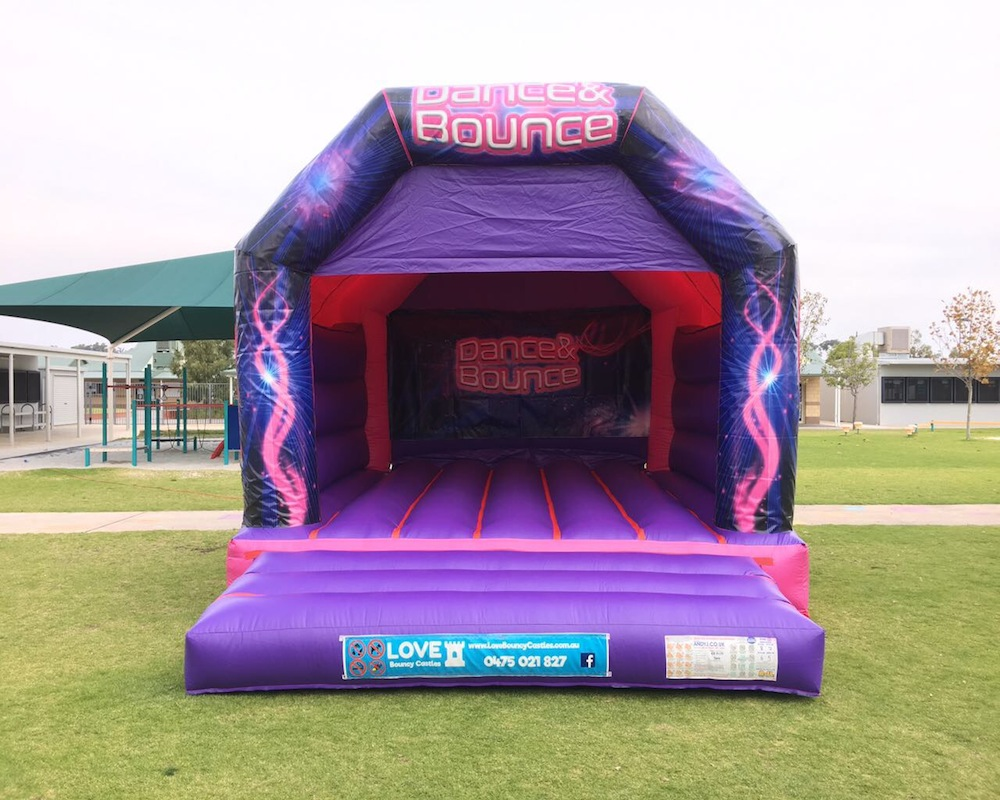 Dance And Bounce Pink Bouncy Castle