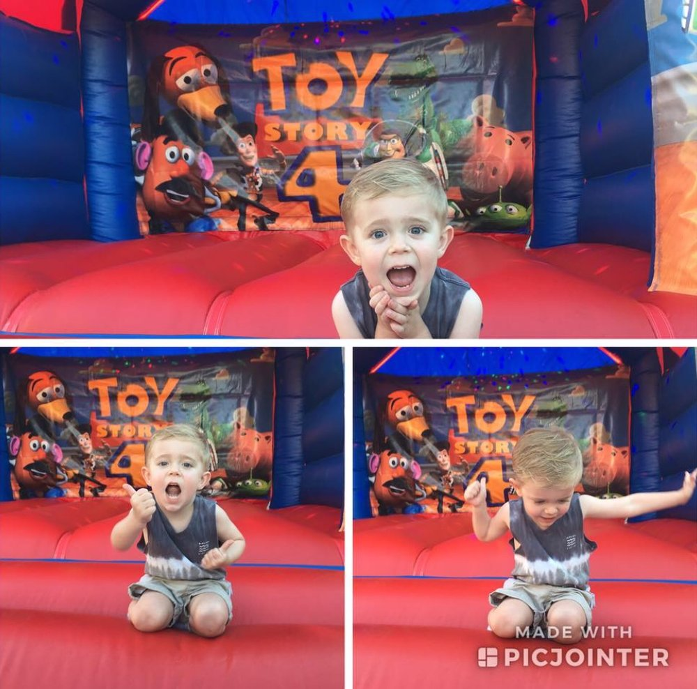 Toy Story Bouncy Castle Hire For A 4th Birthday in Baldivis, 6171, Rockingham City