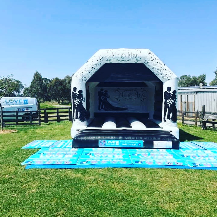 Wedding Bouncy Castle Set Up At A Venue In Baldivis, 6171, Rockingham City