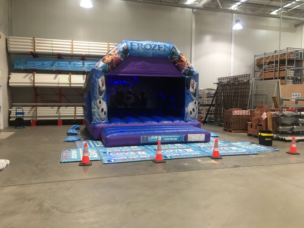 Copy of Large Frozen Bouncy Castle Hire Perth, WA