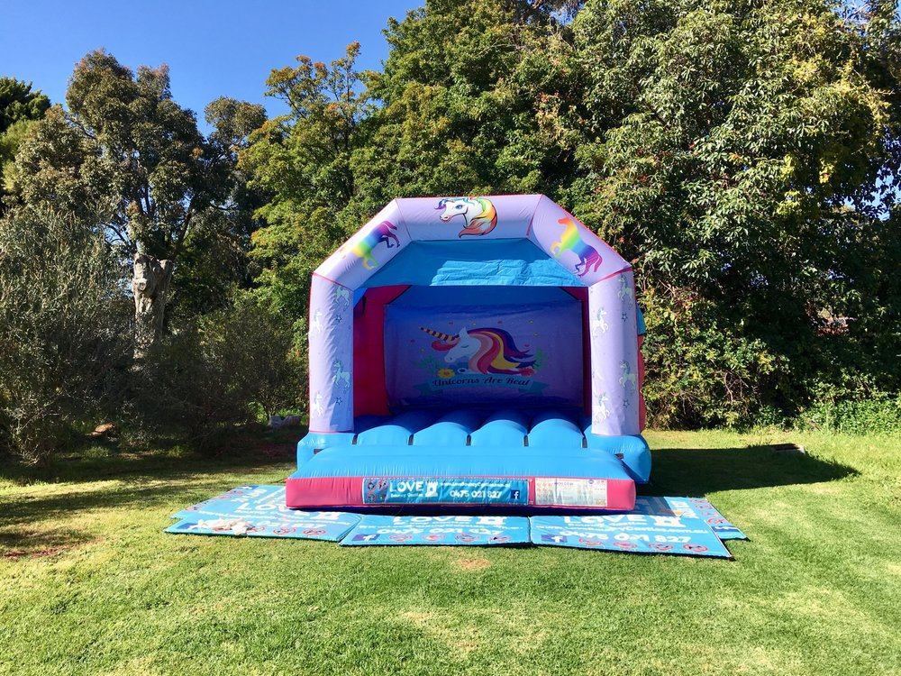 Copy of Brand New Unicorn Jumping Castles Hire In Perth, WA