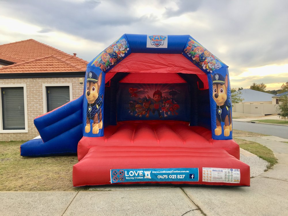 Any Combo Bouncy Castle $450 - Book any themed combo bouncy castle all weekend for only $100 more than day hire.Take advantage of our warm summer weekends and give the kids 3 days to remember !!Friday drop off before 3pmSunday collection after 12 midday(drop off times can be adjusted to suit parents that might be at work etc )
