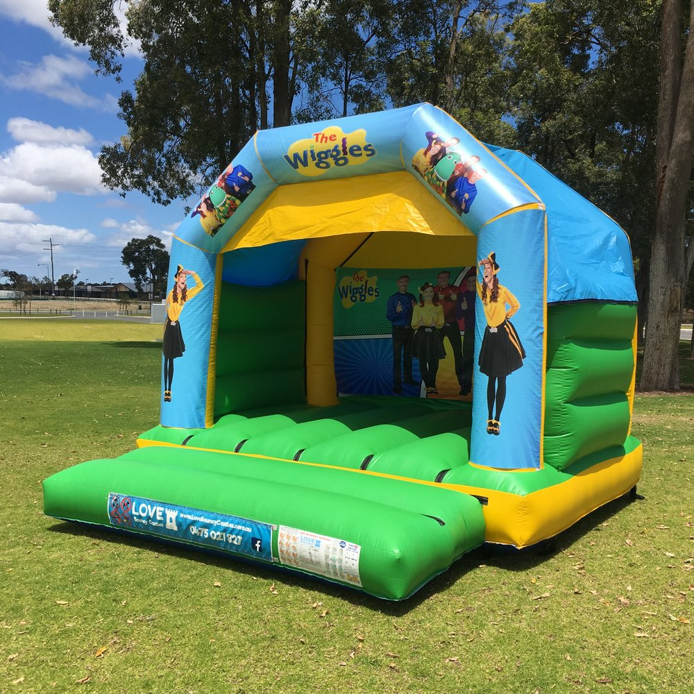 Wiggles Bouncy Castle Hire Rockingham