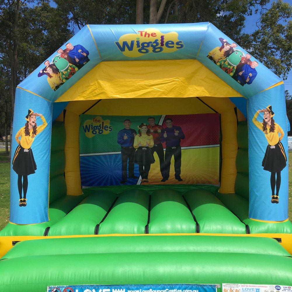 Wiggles Bouncy Castle Hire Mandurah