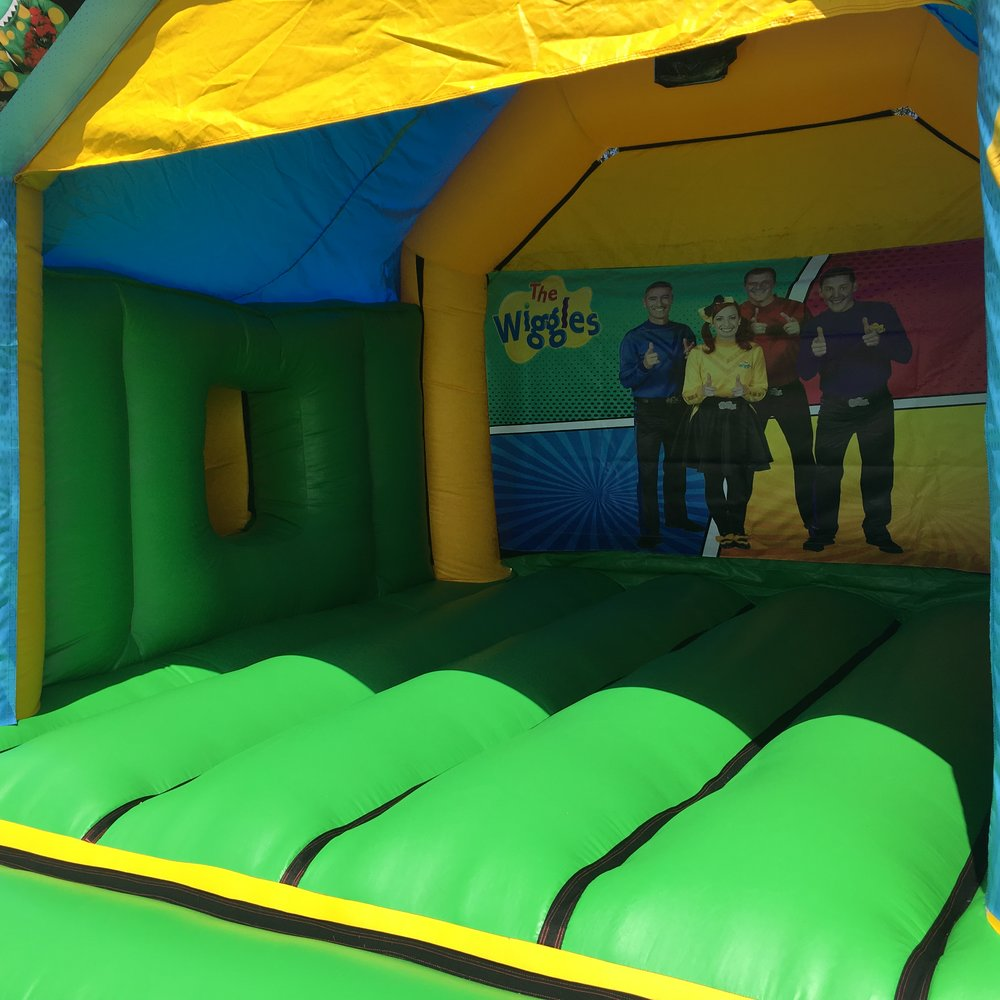 Wiggles Bouncy Castle Hire With Slide Mandurah