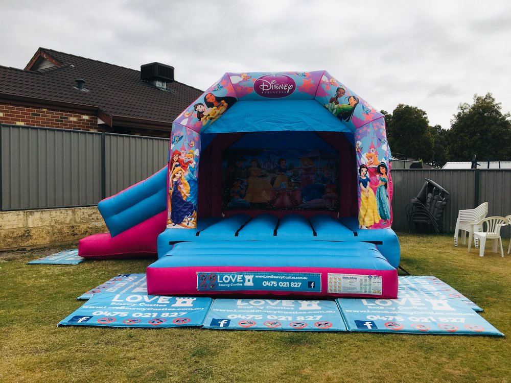 Bouncy Castle With Slide Set Up In Baldivis, 6171