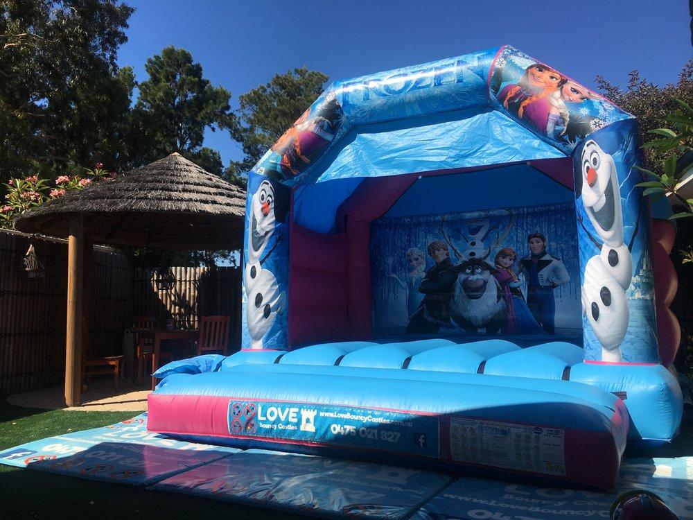 Frozen Bouncy Castle Hire Perth