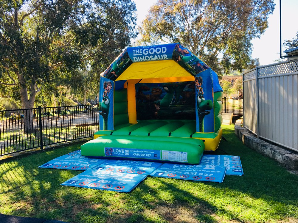 Dinosaur Bouncy Castle Hire Perth