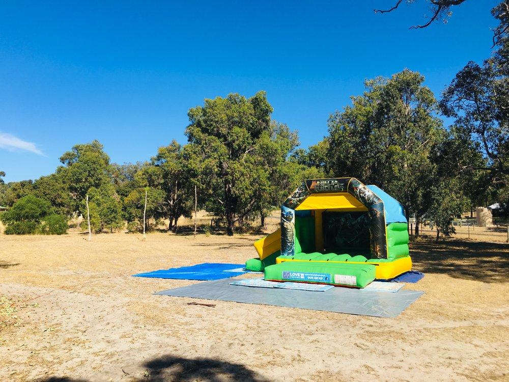 TMNT Bouncy Castle In Perth