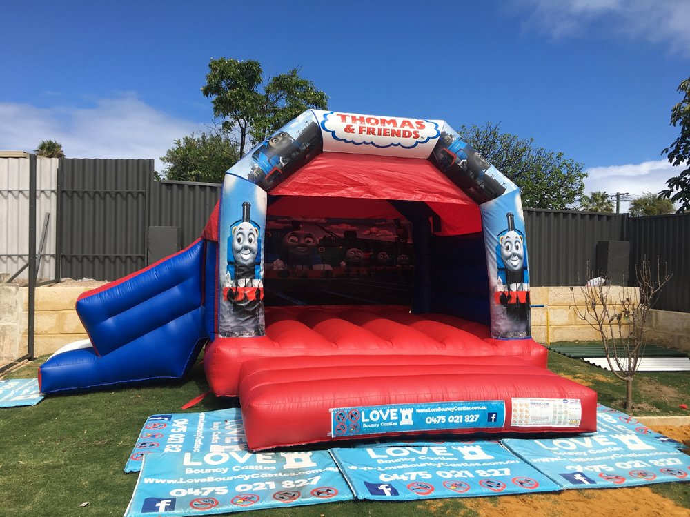Thomas The Tank Engine Bouncy Castle Hire Perth
