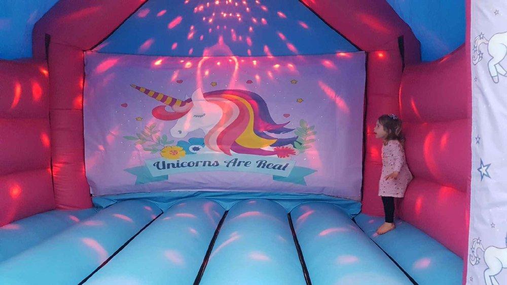 Unicorn Bouncy Castle Combo Perth