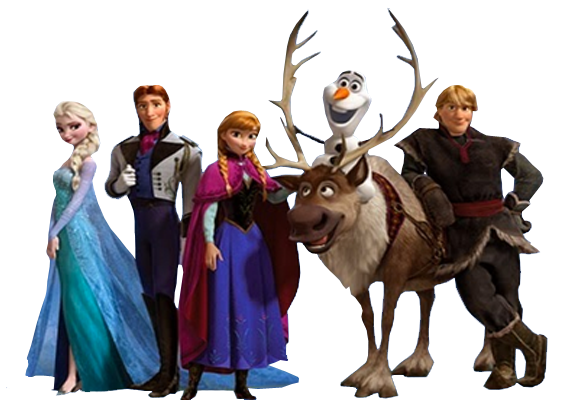Frozen Bouncy Castle Hire Rockingham