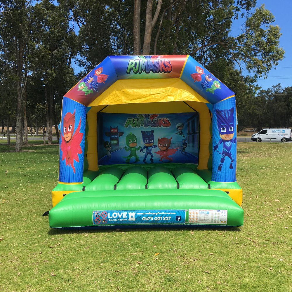 Small Bouncy Castles - Day hire – 8am to 4pm (Every day)Night hire – 5pm to 7am the following morning (Every day)Hire times are flexible :)Castle Size 4mL x 4mW x 3.4mHSuitable from 2 yrsCapacity – Up to 6 kids at a timeOnly $249 + GST All Day or Night HireDiscount for multiple bookings