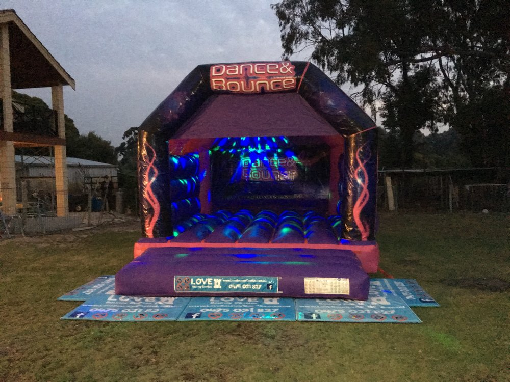 Adult Disco Bouncy Castle Hire Rockingham