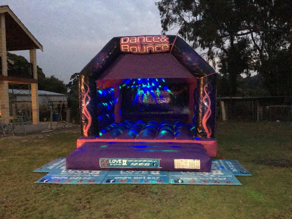 Adult Disco Bouncy Castle Hire Rockingham